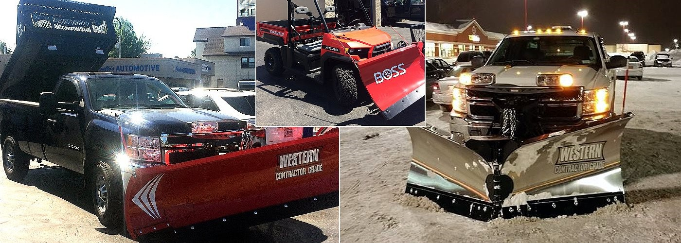 Snow Plows for Just About Any Vehicle...WESTERN, BOSS, Fisher